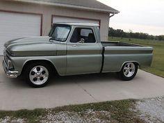 Chevrolet : C/K Pickup 1500 Smooth 1966 Chevy Short Wide Custom - http://www.legendaryfind.com/carsforsale/chevrolet-ck-pickup-1500-smooth-1966-chevy-short-wide-custom/