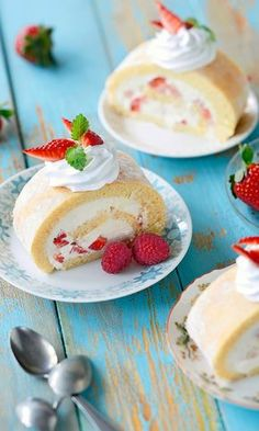 Sweet And Salty, No Bake Desserts, Panna Cotta, Cake Recipes, Buffet, Food Photography, Pudding, Sweets, Baking
