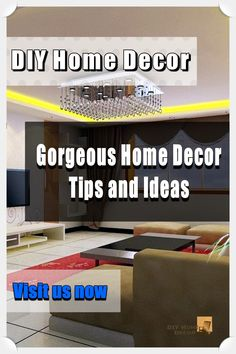 Interior Design Tips From The Pros *** More info could be found at the image url. #easydiyhomedecor