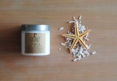 Coconut Body Cream  Beachy Smell Scented Lotion Vegan by ripeshop, $9.00