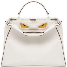 Fendi Monster Bag White