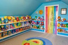 Peachie, Impressive Rainbow Brite collection. I'd just come...