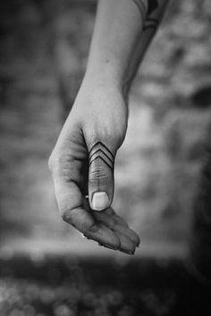 Finger tattoos design ideas for men, women and couples