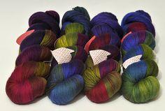 Gorgeous Wollmeise--- my favorite yarn! :0)