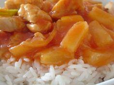 Cozinha Tailandesa - Frango Agridoce com Ananás
