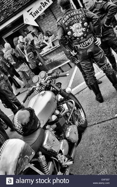 Image result for images of rocker british motorcycle subculture