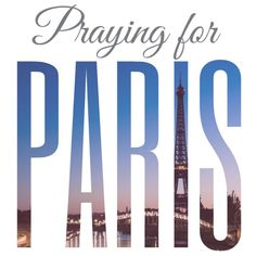 #PrayforParis Found out the horrible news that terrorists are attacking Paris, France let's PLEASE all pray for Paris!