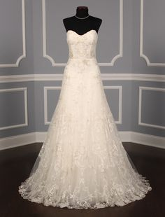 Monique Lhuillier Josephine X Discount Designer Wedding Dress