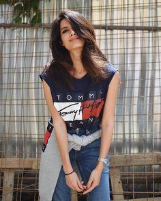 Spotted this beauty @ruyabuyuktetik wearing Tommy Jeans