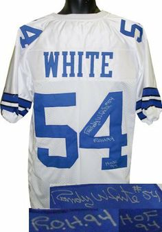 Randy White Autographed Hand Signed Dallas Cowboys White Prostyle Jersey  HOF 94  amp  ROH 71e1b7915