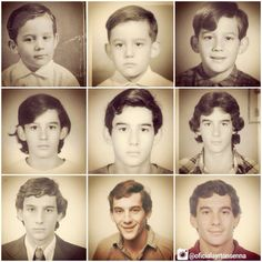 Many Faces Of Ayrton Senna