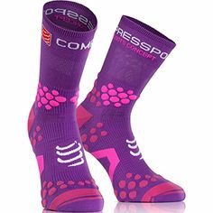COMPRESSPORT TRAIL V2 SOCKS VIOLET  #compressport #trailrunning #trail