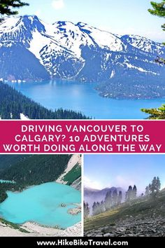 Driving Vancouver to Calgary? 10 Adventures Worth Doing Along the Way Driving from Vancouver to Calgary: 10 stops and adventures worth doing along the way Pvt Canada, Visit Canada, Travel To Canada, Ottawa, Calgary, Quebec, Canadian Travel, Canadian Rockies, Places To Travel