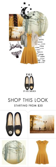 """""""fall fashion 012"""" by opheliaifeelya ❤ liked on Polyvore featuring Stubbs & Wootton, National Geographic Home, WALL, Miss Selfridge and YSL RIVE GAUCHE"""