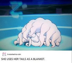 DO ALL THE POKEMON IN ALOLA HAVE THE CUTEST WAYS OF SLEEPING? THE REST OF THE GAMES BETTER HAVE MORE CUTE SLEEPING POKEMON!!!