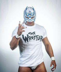 "Dragon Lee ドラゴンリーさんのツイート: ""The Wrestler "" Luchador Mask, Wrestling Stars, Ranger, Drawing Reference Poses, Band Posters, Dragon, 4 Life, Wwe, Mens Tops"