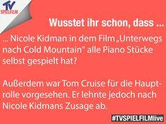 Unterwegs nach Cold Mountain #NicoleKidman #Kidman #funfact #TVSPIELFILMlive