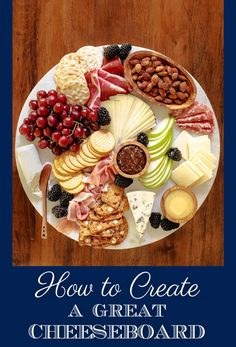 Whether you invite friends for appetizers, want to create an easy pre-dinner nibble or decide to make a meal out of one of these fabulous arrays of deliciousness, here are some tips on how to create a great cheeseboard. #howtomakeacheeseboard #cheeseboarad #easycheeseboard, #tipsformakingacheeseboard, #beautifulcheeseboard via @cafesucrefarine Cold Appetizers, Cheese Appetizers, Appetizers For Party, Appetizer Recipes, Slate Cheese Board, Cheese Boards, Fig Spread, Veggie Snacks, Appetisers