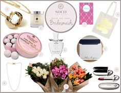 ★NEW BLOG POST★ It's here! The SoCo Events Wedding Gift Guide Series! Each week we will feature our top 10 gifts for the people that help make your wedding day extra special. Check out our top 10 gifts for Bridesmaids!