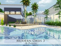 The Sims Resource: Modern Oasis 3 by Praline Sims • Sims 4 Downloads