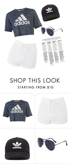"""Enjolina"" by whitney555 ❤ liked on Polyvore featuring adidas, Topshop and adidas Originals"