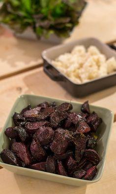 Balsamico-punajuuret | Maku Vegetarian Recepies, Vegan Recipes, Vegan Food, Food Food, No Salt Recipes, Just Eat It, Rice Dishes, I Foods, Food Inspiration
