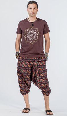 Зуавы, аладины, оранжевые шаровары, мужская индийская одежда, Индия, восток, одежда для йоги, мужские штаны для йги, yoga pants for man, Aladdin pants, trousers, men's Indian clothing, India. 1120 рублей