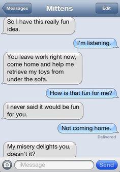 Mittens the text messaging cat (PART 3) - Imgur