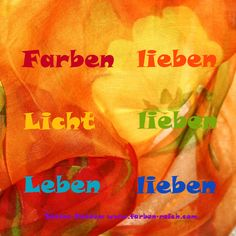Farben lieben ... http://www.farben-reich.com/