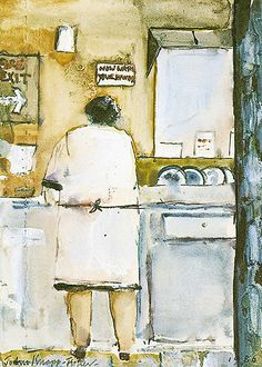 """Dishwasher"" by John Knapp-Fisher"