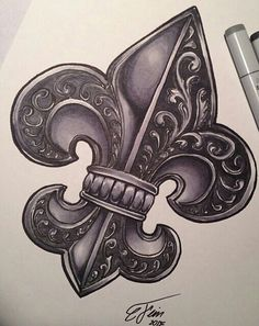 1000 ideas about fleur de lis tattoo on pinterest tattoos tattoo designs and symbols. Black Bedroom Furniture Sets. Home Design Ideas