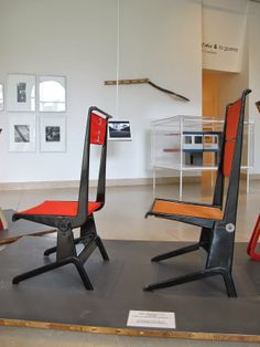 JEAN PROUVE Charlotte Perriand, Jean Prouve, Mid Century Design, Jeans, Chair, Architecture, Designer, Tables, Interiors