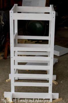 Modified Folding Kitchen Helper From Ana White Com Diy