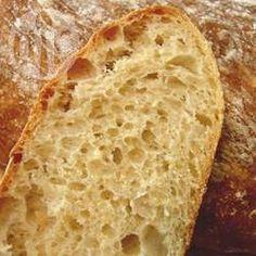 Pão ciabatta sem sova @ allrecipes.com.br