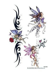 Sexy Fairies Tattoo