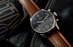 Stowa 1938 Chronograph Black Dial