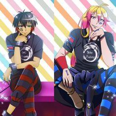 Nanbaka Anime, Boys Anime, All Anime, Anime Art, Art Manga, Black Butler Anime, Bishounen, Cute Anime Pics, Kawaii Wallpaper