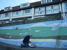 Sheringham's resident artist Colin Seal Norfolk England, Coastal Art, Past, Seal, Literature, Places, Artist, Literatura, Past Tense