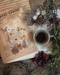 Still Life, Vintage World Maps, Flowers