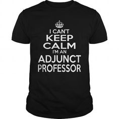 ADJUNCT PROFESSOR KEEP CALM AND LET THE HANDLE IT T Shirts, Hoodies. Check price ==► https://www.sunfrog.com/LifeStyle/ADJUNCT-PROFESSOR--KEEPCALM-T4-Black-Guys.html?41382