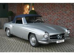 Mercedes Benz #190SL. For all your Mercedes Benz 190SL restoration needs please…