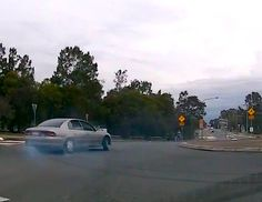 A GUY WAS SPOTTED GETTING ANGRY WITH A DRIVER FOR NOT POINTING WHICH DIRECTION AS DRIVER SUDDENLY DRIFTS OFF!