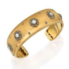18 Karat Two-Color Gold and Diamond Bracelet, Buccellati