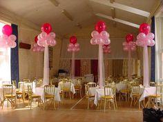 Balloon Centerpieces Wedding on Pinterest