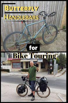 Butterfly Handlebars Are Trekking Bars Best Bicycle Touring Handlebars Touring Bike Trips Packing Tips For Travel