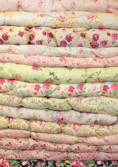 delicate femm fabrics <3 if I have a baby girl she will be surrounded by these super cute fabrics!
