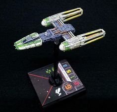 Y-Wing repaint | X-Wing miniatures
