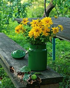love the green and yellow (idea for colors for pillows)