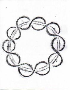 Waldorf ~ 4th grade ~ Form Drawing ~ Braided Circle