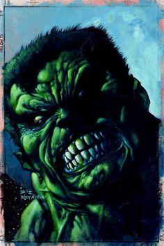 Hulk//Simon Bisley/B/ Comic Art Community GALLERY OF COMIC ART